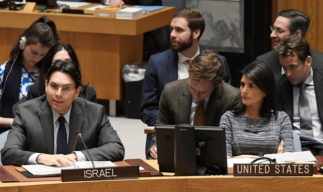 Israeli UN Ambassador: There Are 82000 Iranian-Controlled Fighters in Syria