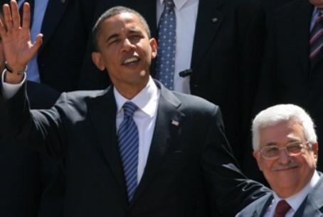 US President Obama and PA President Abbas