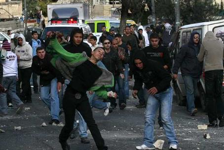 Arab riot in Jerusalem