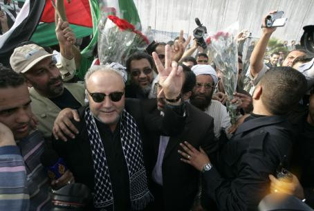 British MP George Galloway in Gaza