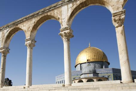 Al Aqsa, third holiest shrine in Islam