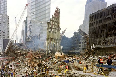 Aftermath of the 9/11 attack