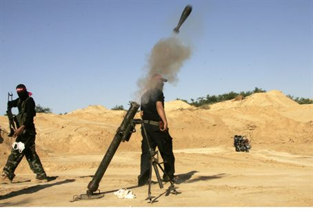 Gaza terrorists launch mortar