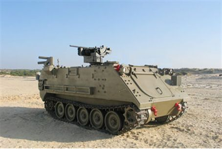 Spurred Arrow system installed on APC