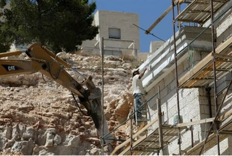 Building project for Jews in eastern Jerusale