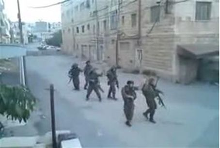 Soldiers Dancing in Hebron