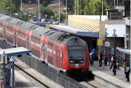 Illustration: Israeli train