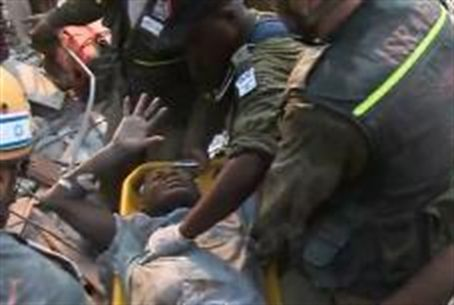IDF rescuers in Haiti after January 2010 Quak
