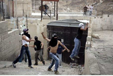 Rock attack in Shiloach (archive)