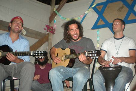Sukkah Party in Jerusalem