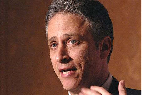 Jon Stewart speaks at USO awards show