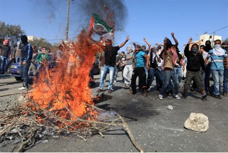 Arabs riot against nationalist in Umm el Fahm