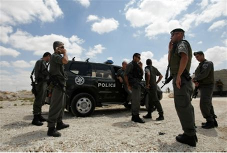 Police at Issawiyah (file)