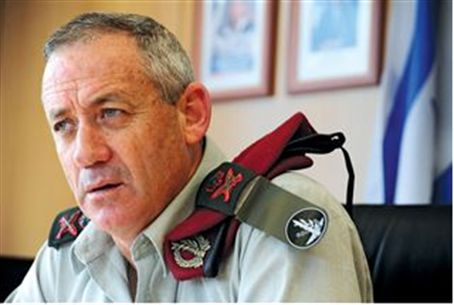Deputy Chief of Staff Benny Gantz