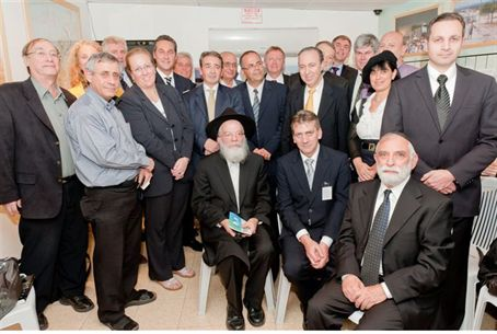 MPs in the Gush Katif museum