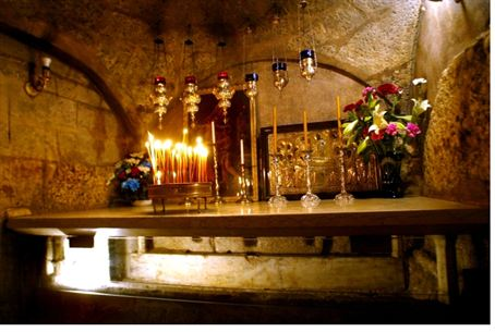 Tomb of Mary near Jerusalem