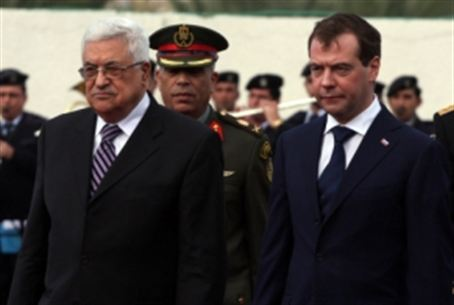 Abbas and Medvedev