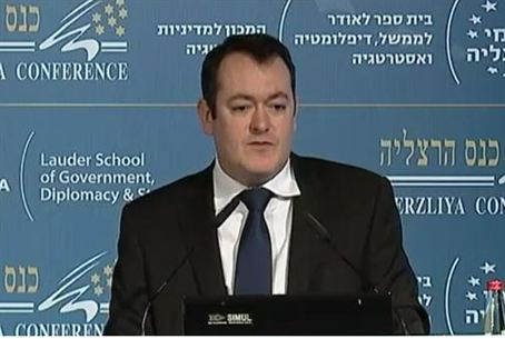 Michael Dugher at Herzliya Conf