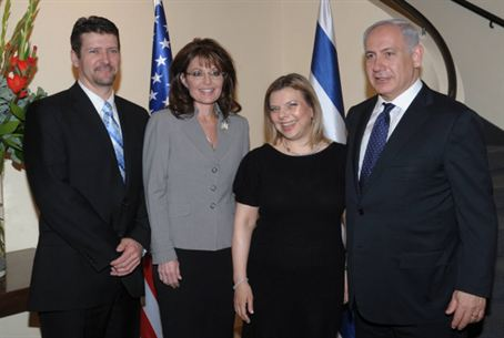 Palin and Netanyahu