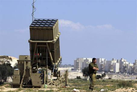 Iron Dome deployed, 27.3.11.