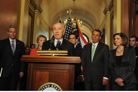 President Shimon Peres at Congress