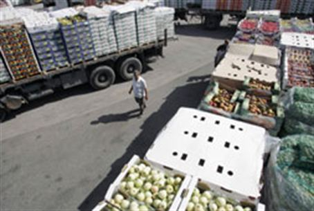 Aid to Gaza at the Kerem Shalom crossing
