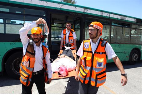 Emergency Drill in Jerusalem