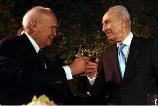 President Peres and President Papoulias