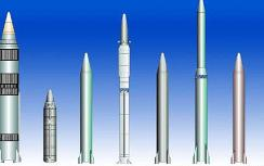 Iranian and Korean-made missiles