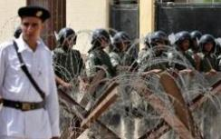 Egyptian anti-terror forces on guard