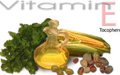 Vitamin E found in many foods