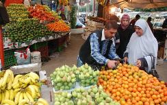 Fruits and vegetables plentiful in Gaza