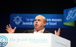 Natan Sharansky at  the 2009 JFNA/GA