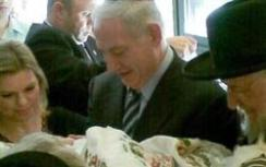 Netanyahu with grandson Shmuel