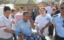 Policeman injured last week at Temple Mount