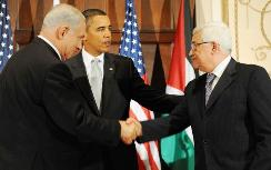 PM Netanyahu, Pres. Obama, PA Chair Abbas