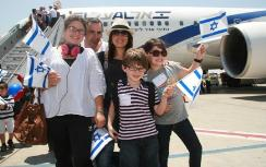 French olim arrive in Israel Tuesday