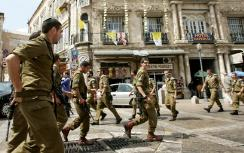 IDF deploys soldiers in Old City