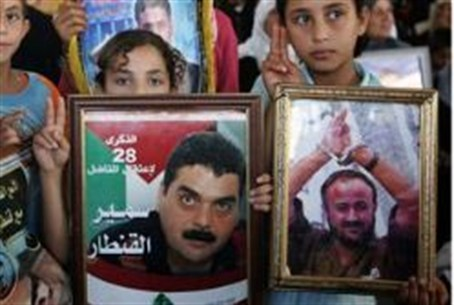 Lebanese children rally for Kuntar (archive)