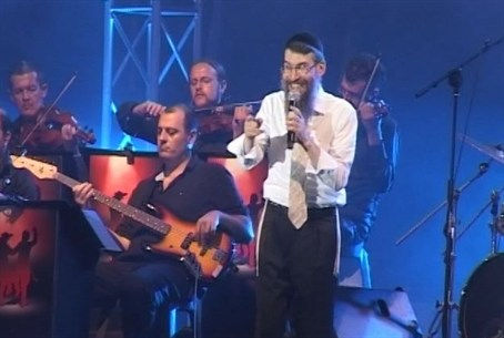 Avraham Fried in Rechovot
