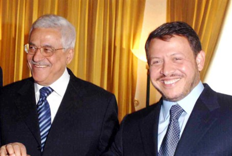Mahmoud Abbas, King Abdullah II (archives)