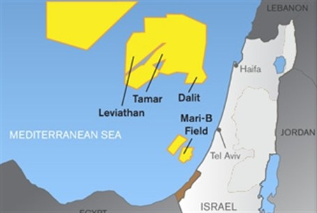 Israeli natural gas fields
