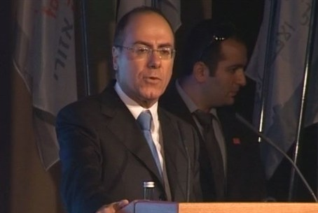 Water and Energy Minister Silvan Shalom