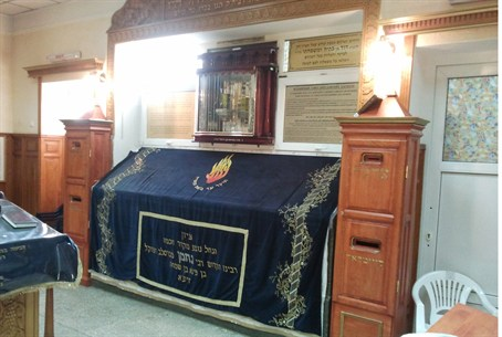 Burial site of Rabbi Nachman in Uman