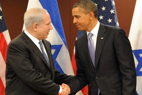 Netanyahu and Obama in NYC
