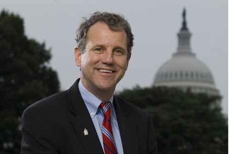 Ohio Sen. Brown -- Good looks help?
