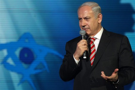 Netanyahu at Taglit Mega Event