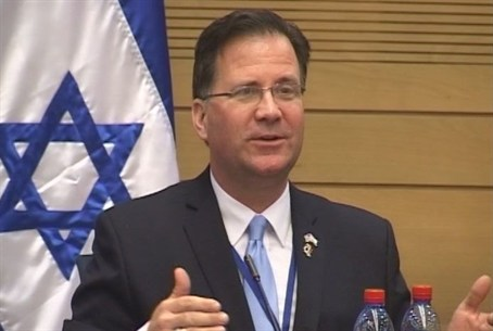 Lars Larson in the Knesset