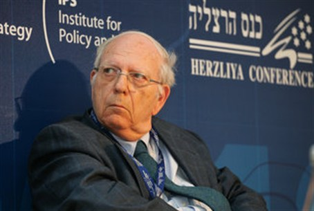 Ephraim Halevy at the Herzliya Conference