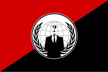 Anonymous Anarchy Flag